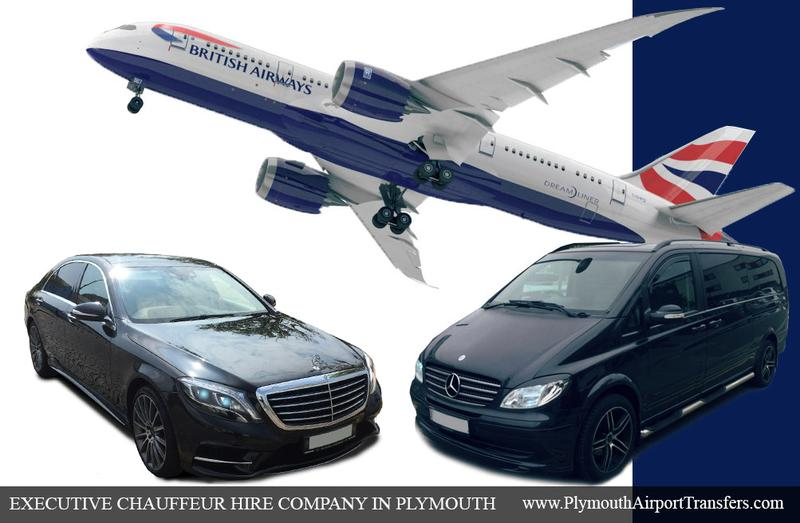 Executive Mercedes Car hire Plymouth. Chauffeur services. First class drivers