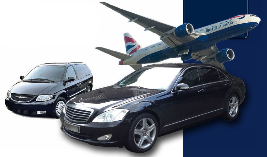 Plymouth Airport Transfers, Devon, Cornwall and South West Executive Car Hire.