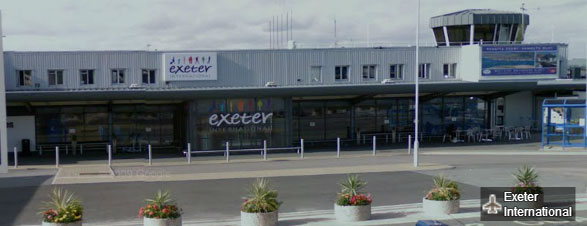 Exeter Airpor transfers from Plymouth Airport Transfers