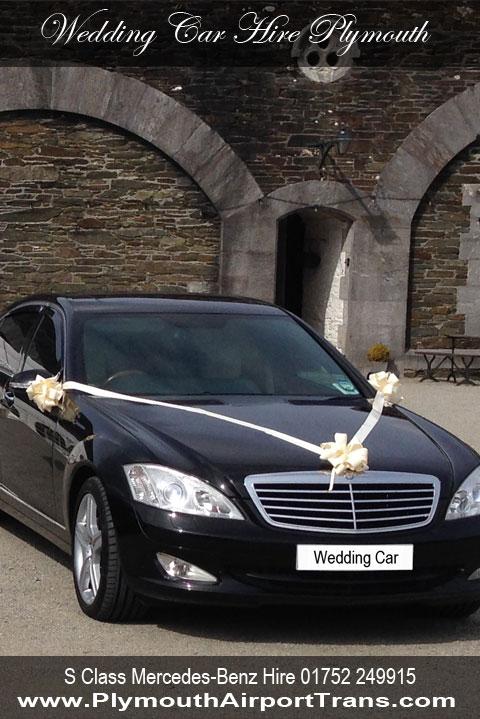 Wedding Car Hire Plymouth Wedding Car Mercedes Benz Limo S500l