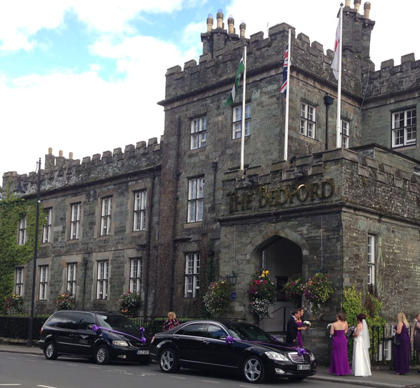 Wedding Car Hire Tavistock The Bedford Hotel