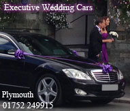 Wedding Car Hire Plymouth, Devon. 01752 249915